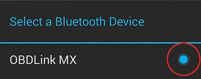 Select OBDLink MX