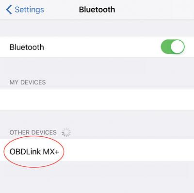 Pair MX+ will iOS device