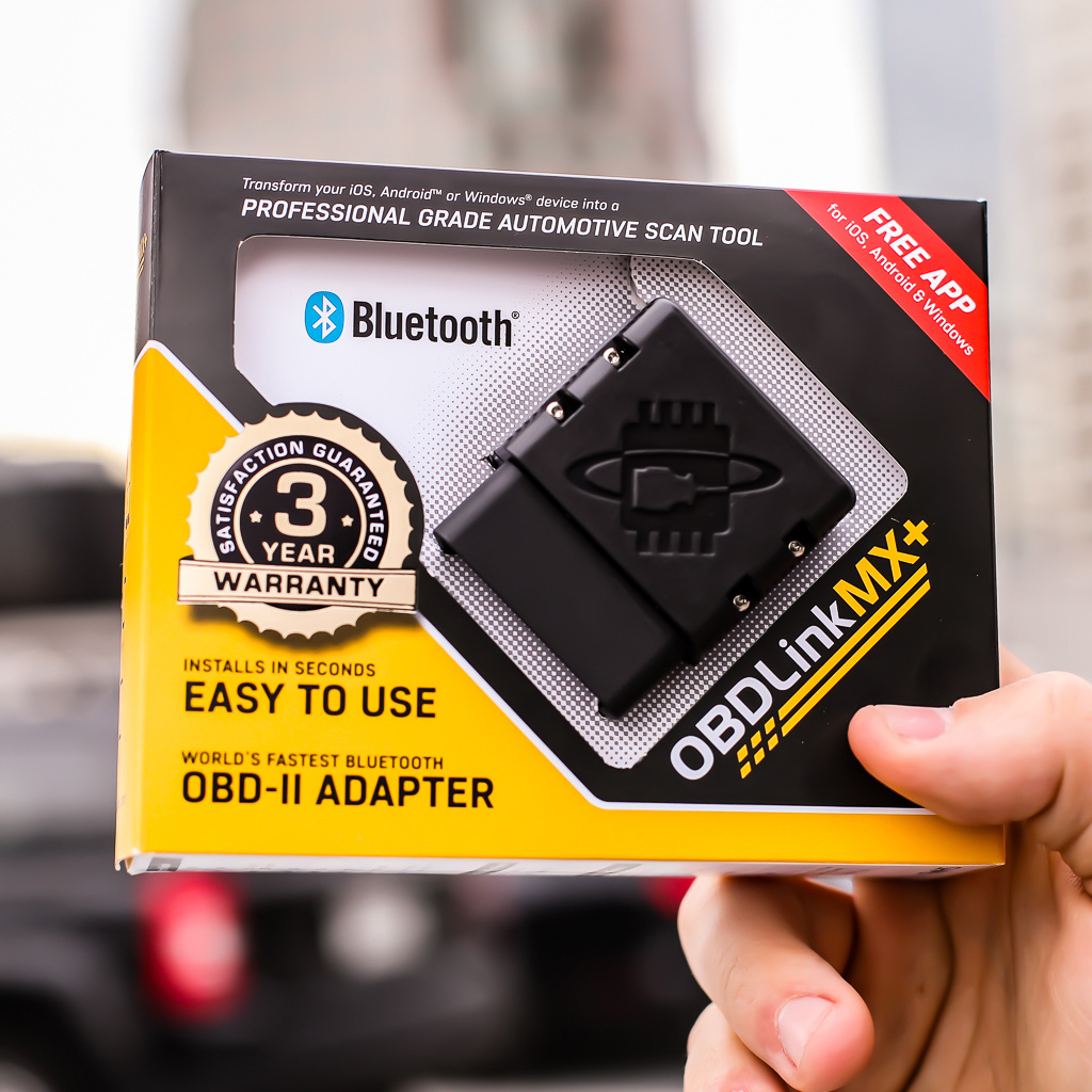 OBDlink MX+ OBD2 scanner and vehicle performance monitor